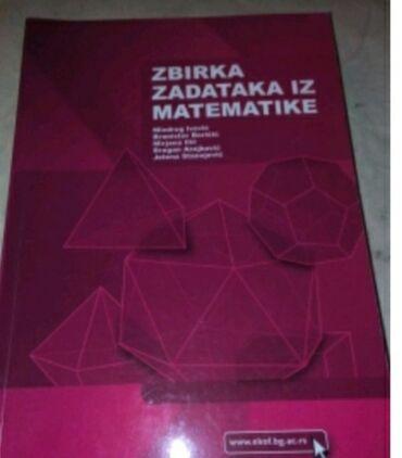 Na prodaju knjiga i zbirka iz matematike za prvu godinu ekonomskog