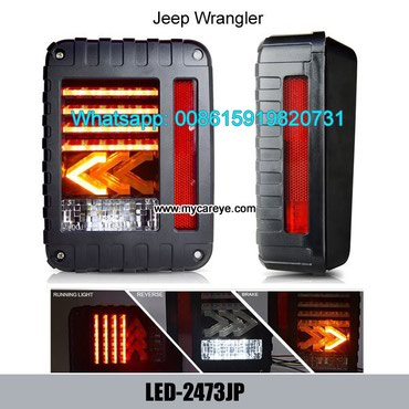Jeep Wrangler Brake Backup Reverse Yellow Arrow Turning Signal Light in Tīkapur