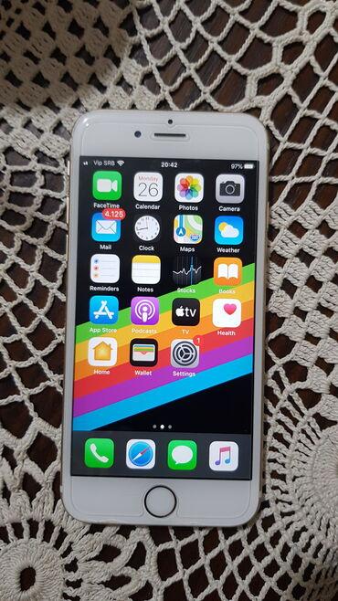 Na prodaji iphone 6s gold boje kapaciteta 16 GB. Stanke odlicno kao