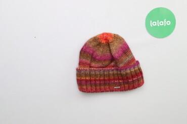 Жіноча в'язана шапка    Довжина: 19 см Ширина: 21 см  Стан: дуже гарни