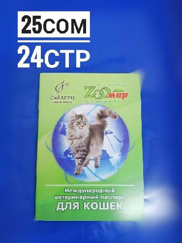 мягкие домики для кошек в Кыргызстан: Вет паспорта для кошек