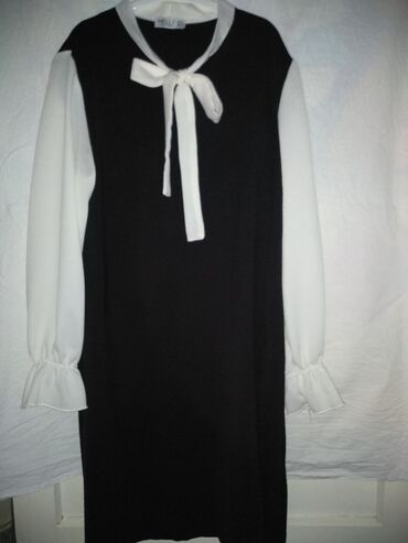 спортивные платья больших размеров в Кыргызстан: Платье до колен. Размер : L