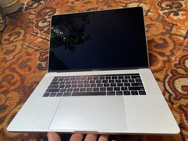 купить диски на 15 бу в Кыргызстан: Macbook pro 15 2018 i7/ 16/ 512/ radeon pro 555x, 47 циклов зарядки, в