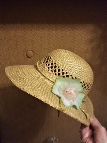 Продаю  шляпку из натуральной соломки, в Бишкек