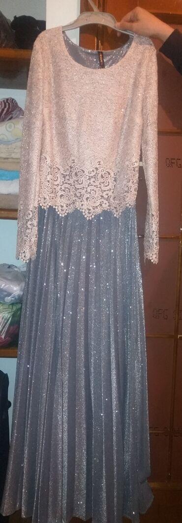 вечернее платье в горошек в Кыргызстан: Турецкое платье, один раз одевала