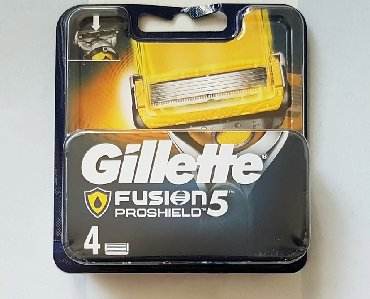 Ostalo - Pancevo: Gillette Fusion Proshield sa 4 uložakaPotpuno novo u originalnom