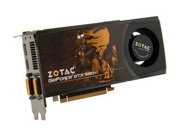 Электроника - Каракол: Отличная видеокартаGTX560 1Gb 256bit DDR5 Память Samsung На