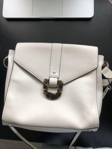 сумка для в Кыргызстан: Кожаная сумка от Zara. Отличного качества