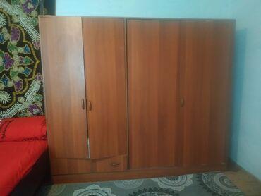 Шифер волновой цена - Кыргызстан: Продаю шифонер состояние отличное четыре дверей для большой семьи цена