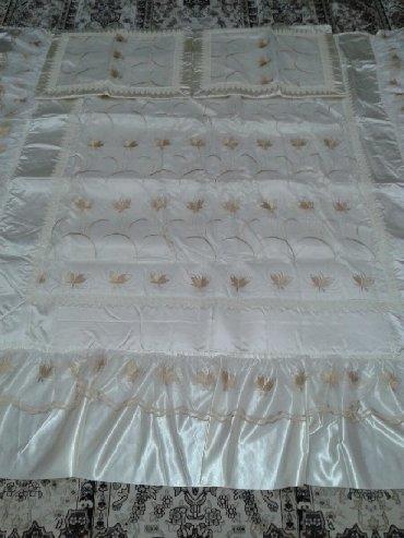 декоративная наволочка рапира в Кыргызстан: Шикарное кружевное покрывало на двухспальную кровать + 2