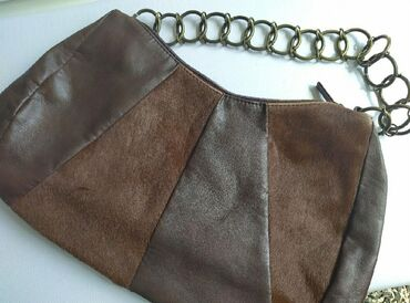 ENTRA vera pelle, leather bag, made in Italy