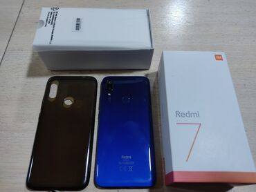 веб камеры ручная фокусировка в Кыргызстан: Б/у Xiaomi Redmi 7 16 ГБ Синий