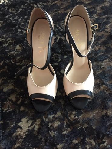 Турецкие туфли от B&Y shoes , на ноге в Кок-Ой
