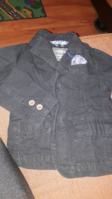 Dečije jakne i kaputi - Vrsac: Muski sako za trogodisnje smekere 😉  Vel.98cm 2,5-3 godine