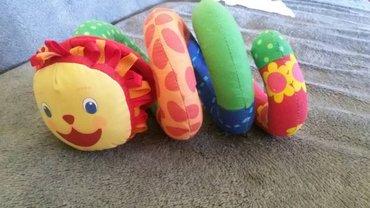 Dečija igračka za kolica spirala - Crvenka