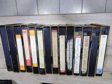 Knjige, časopisi, CD i DVD | Nova Pazova: 14 kom video kaseta, 5 kom. fudbal