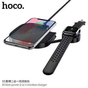 iwatch - Azərbaycan: ▶ Original Hoco 2-in 1 universal dual wireless charger simsiz
