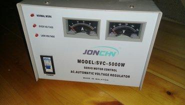Şirvan şəhərində Stabilization 5 kW
