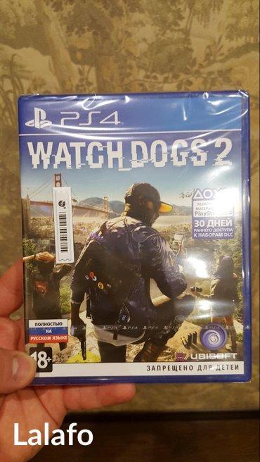 Watch dogs 2 на ps4! новый,запечатанный! на русском в Бишкек