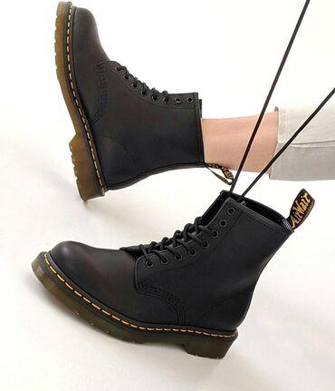 Кожаные ботинки Dr. Martens Мех натуральный