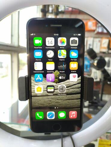 аккумуляторы для смартфонов в бишкеке in Кыргызстан | XIAOMI: IPhone 8 | 64 ГБ | Черный Б/У | Гарантия, Отпечаток пальца