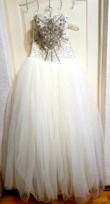 Свадебные платья и аксессуары в Кыргызстан: Продается свадебное платье, б/у, в отличном состоянии!!!• Размер