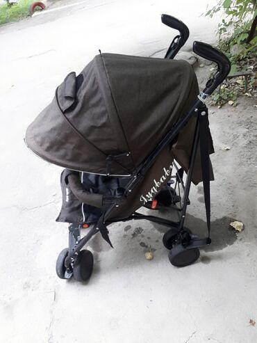 прогулочную коляску лёгкая и удобна в Кыргызстан: Лёгкая,удобная прогулочная коляска в хорошем состоянии.немного только