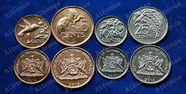 10 рублевые юбилейные монеты в Кыргызстан: Продаю набор монет Тринидад и Тобаго.состояние АНЦ