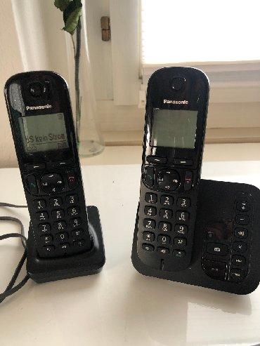 Acura-tl-3-2-mt - Srbija: Fiksni telefoni Panasonic, 2 komada u kompletu, uvoz Svajcarska