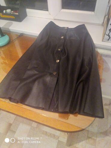 Личные вещи - Кок-Ой: Длинная кожаная юбка для осениГарантирую, качество отличное
