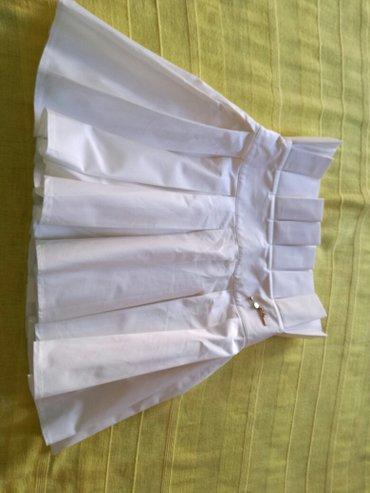 suknja bela sa cvrtsim gornjim delom velicina S - Smederevo