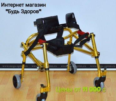 Ходунки для детей с ДЦП от 11 000 сом. Доставка из России в Бишкек
