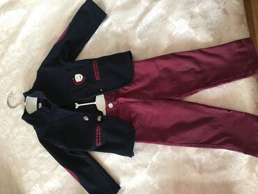 костюм школьника 18 в Кыргызстан: Классный и очень стильный костюм на мальчика  12-18 мес  Отдам за 120