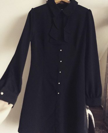 Новая женская рубашка. Производство в Бишкек