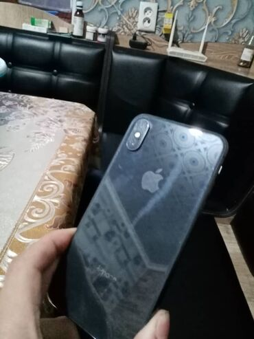 Электроника - Кыргызстан: IPhone X | 64 ГБ | Черный | Б/У | Гарантия, Face ID