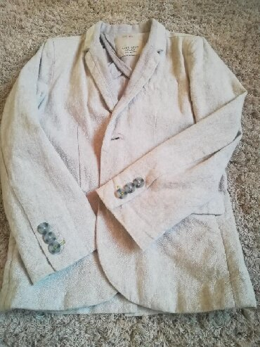 Dečije jakne i kaputi | Kikinda: Zara sako za dečake. Veličina 6/ u odličnom stanju. Vrlo malo nošen