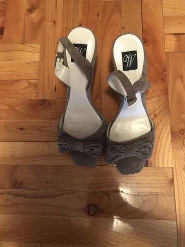 Sive kozne sandale broj 37 - Beograd