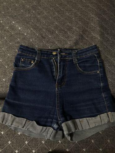 Шорты - Кыргызстан: Джинсовые шорты на девочку.(12-15 лет)немного протерты сзади, а так