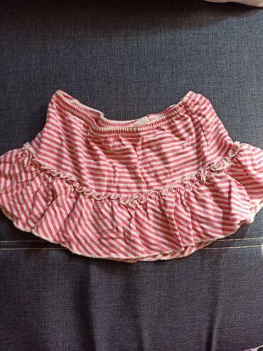 Ostala dečija odeća | Krusevac: Preslatka pamučna suknjica za devojčice. Veličina je od 9-12