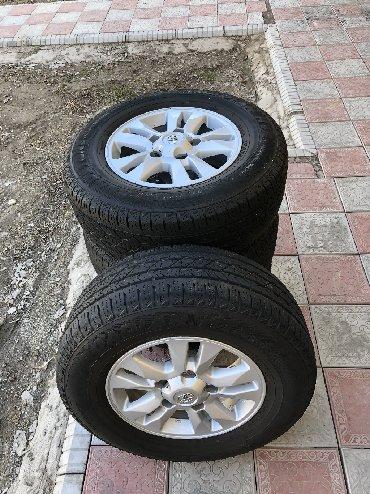 Срочно срочно срочно Колёса с дисками от Тойота ланкрузер 200