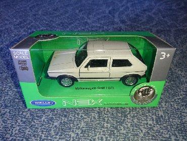 Pre - Srbija: Metalni auto Golf I GTI - WellyNaziv: Metalni auto Volkswagen Golf I