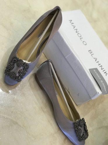 Продаю новые балетки Manolo Blahnik 37-36 размера. На узкую ногу в Бишкек