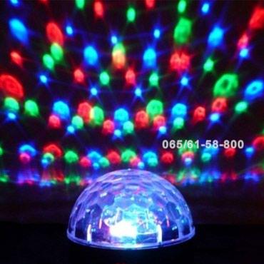 LED Kugla sa zvučnikom - Bluetooth zvučnik led kugla - Disko kugla - Pancevo