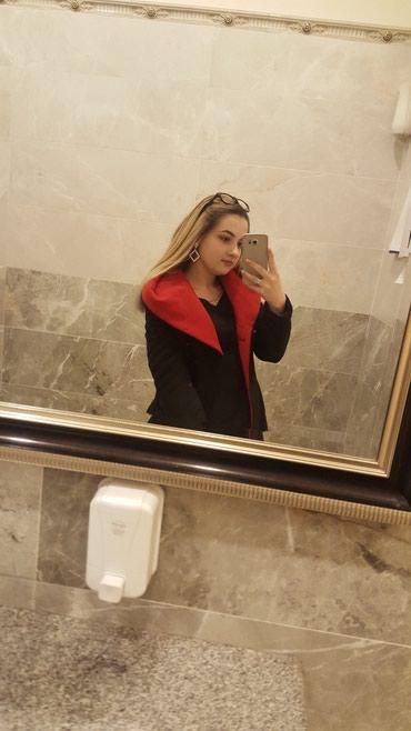 Черное теплое пальто, высшее качество. Кашемировое, можно и в зиму  в Лебединовка