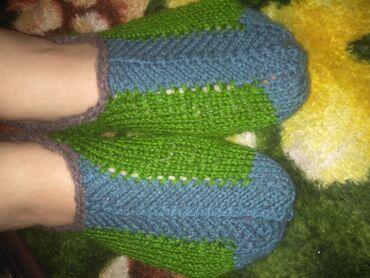 для одежды в Кыргызстан: Вяжу на заказ!  Носки,следки,пинетки, тапочки!