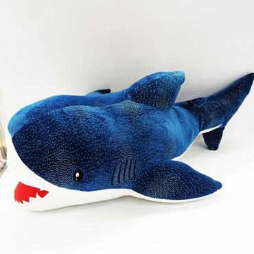 прокат платьев больших размеров бишкек в Кыргызстан: Акула мягкая игрушка.Прокатите ребенка на одной из самых больших рыб в