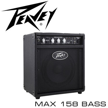 Комбоусилитель: Peavey Max 158 - это 20-Ваттный басовый