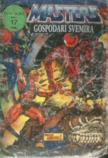 """Strip """"Masters - Gospodari svemira"""" (1990), broj 17, 35 str"""