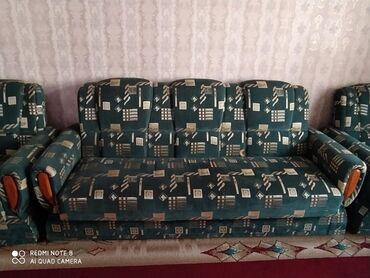 Диваны - Каинды: Продам раскладной диван 2креслами