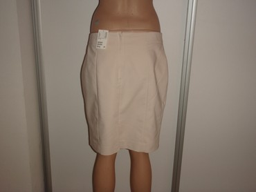 Suknja-hm-pamuk-elastin-cm-struk - Srbija: Suknja HM 44 nova pamuk,poliester,elastin kupljena u Austriji sirina p